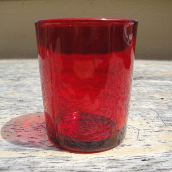 red colored glass votive candle holders jojo 39 s candle company. Black Bedroom Furniture Sets. Home Design Ideas